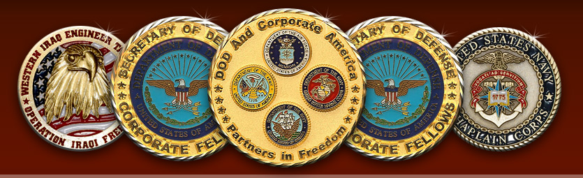 Challenge Coins - Custom Coins - Military Coins